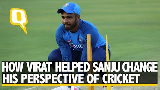 Sanju Samson Shares How Virat Kohli Helped Him Change His Dedication to Cricket | The Quint