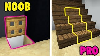 NOOB VS PRO: CUARTO SECRETO EN MINECRAFT