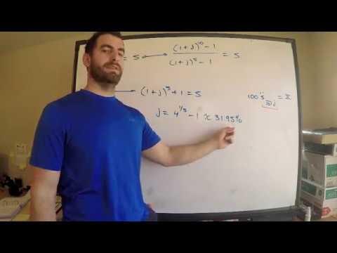 SOA #2 Exam FM | Annuity-Due - YouTube