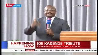 Preacher cracks up congregation during Football Legend Joe Kadenge\'s tribute service