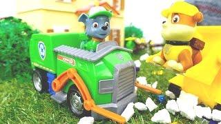 Игрушки ПАТРУЛЬ! Новое видео для детей! Игрушки из мультиков про Щенячий патруль ждут Райдера!