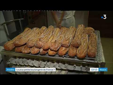 Découvrez la plus petite boulangerie de France