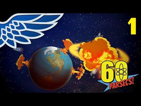 60 PARSECS | Space Survival Part 1 – 60 Parsecs! Let's Play Gameplay
