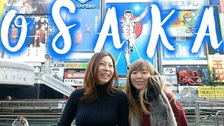 Osaka Food Guide In Dotonbori, Japan: Takoyaki Octopus Balls & Okonomiyaki | Japan Food Travel Guide