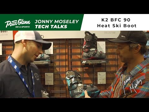 Peter Glenn Tech Talk: 2018 K2 BFC 90 Heat Ski Boot Review
