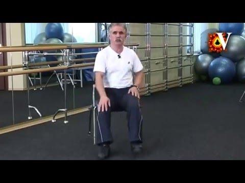 Артроз коленных суставов. Комплекс упражнений по методике Попова