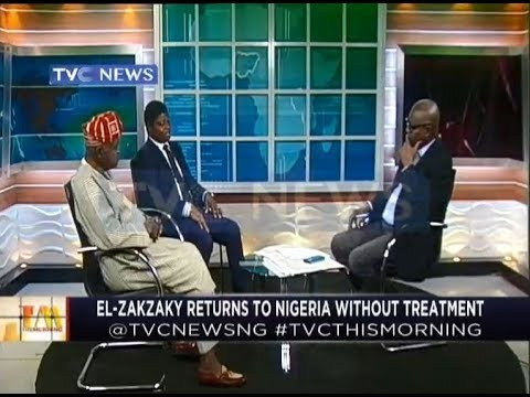 El-zakzaky returns to Nigeria without treatment