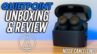 NEW Audio Technica Noise Cancelling Headphones! Are They Good?