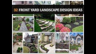 32 Cheap Front Yard Landscape Design Ideas - DecoNatic