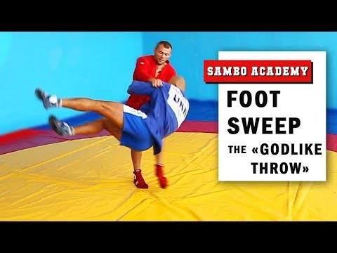 Foot sweep the most beautiful throw. How to do it correctly