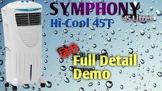 """SYMPHONY Air Cooler """"Hi-Cool 45T"""" Full Details & Demo"""