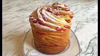 Пасхальный Кулич Краффин / Easter Cake Cruffin / Пасха / Паска / Слоеный Кулич (Очень Вкусно)