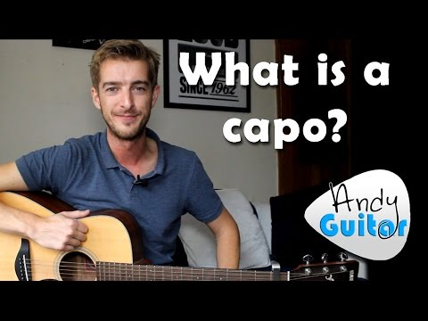 Guitar Capo Explained - What is a capo for guitar?