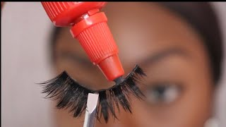 Easy Eyelash Tutorial | How To Apply Strip Lashes