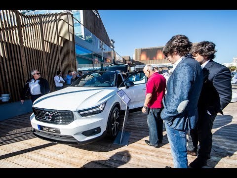 Nova Volvo V90 Cross Country Ocean Race em Lisboa