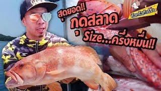 โครตใหญ่! ปลากุดสลาด ราคาครึ่งหมื่น! [หัวครัวทัวร์ริ่ง] EP.33