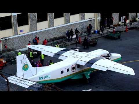 globalgilroy - Lukla Airport - Nepal - 2 of 3 - morning arrival &amp departures