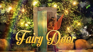 DIY - How To Make: Doll Fairy Door | Portable Doll Crafts