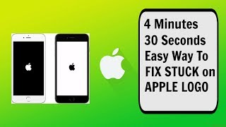 Easy way to fix Stuck On Apple Logo in 4 Minutes for FREE!