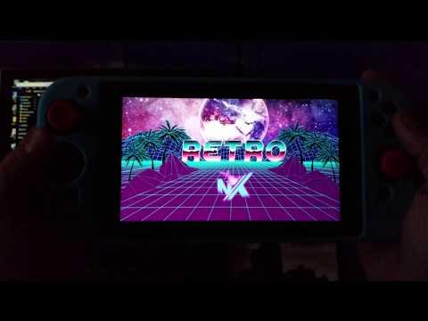 Retroarch for the Nintendo Switch! RetroNX! Boot Via Homebrew