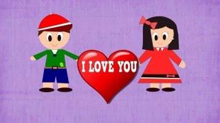 TE QUIERO -  I LOVE YOU - Aprender a Expresar Sentimientos -Vídeos educativos para Niños y Bebés