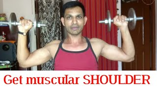 SHOULDER DUMBBELL PRESS AND ALTERNATE|MY FITNESS KANNADA CHANNEL|IN KANNADA