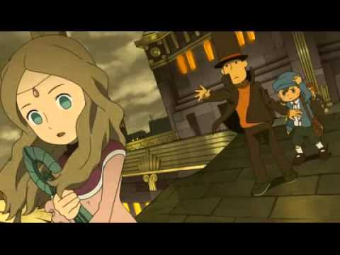 Professor Layton and the Azran Legacy (3DS) - All Cutscenes [German]