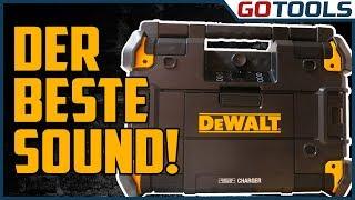 Das beste Baustellenradio? DeWalt T-STAK DWST1-81078