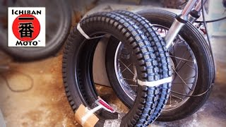 how to change a motorcycle tire by Ichiban Moto