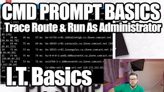 Trace Route and Run As Administrator - IT Basics