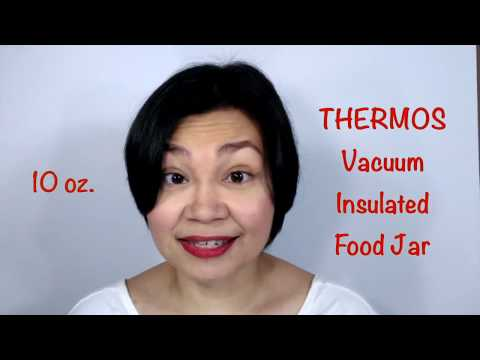 Product Review: Thermos Vacuum Insulated Food Jar (2018)