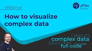 Visualization Tools for Complex Data - No Code, Low Code, and full Code