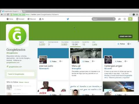 Here's A Video Of Those 'New' Twitter Profiles