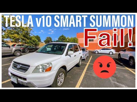 Probleme bei der Parkfunktion von Tesla