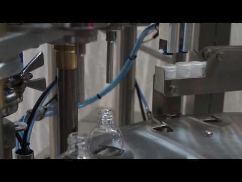 Автомат модель TPL для розлива в пластиковые бутылки