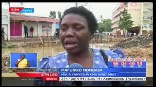 Sasa raha ya baraka za mvua imegeuka kuwa hasara haswa katika maeneo ya Bamburi