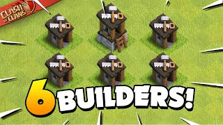 How To Get 6 Builders in Clash of Clans!
