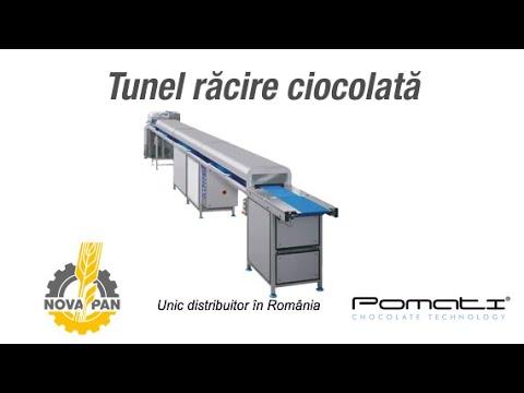 Tunel racire ciocolata