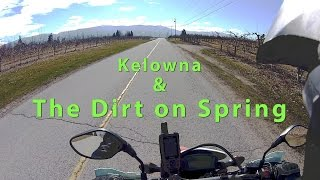 Kelowna And The Dirt On Spring CRF250L