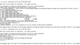 datapump include, exclude,reuse dumpfile, generte sql file