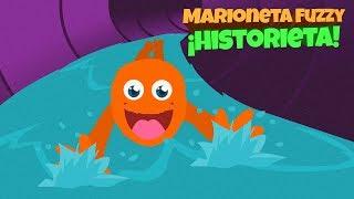 Fuzzy va abajo enorme tobogán 🌊 Agua Parque 🎨 de dibujos animados para la compilación de los niños
