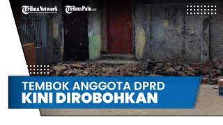 Anggota DPRD Pangkep Tutup Akses Rumah Tahfidz dengan Bangun Tembok 3 Meter, Kini Dirobohkan