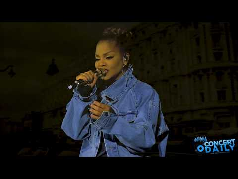 "Janet Jackson performs ""Twenty Foreplay"" live at the State Of The World Tour Baltimore"