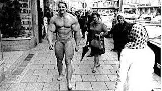 When Arnold Schwarzenegger Goes Shirtless In Public !!