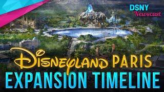New Details of EXPANSION TIMELINE for Disneyland Paris - Disney News - 6/06/19