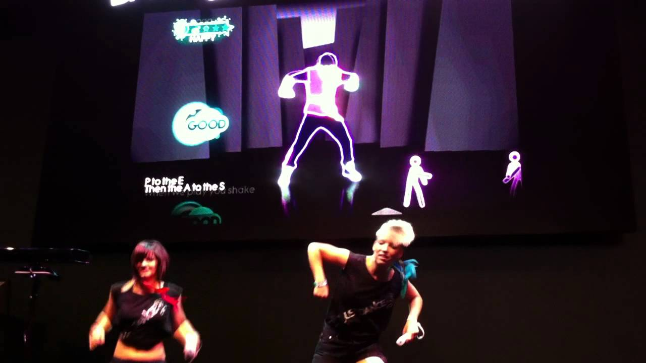 Just Pump It And Dance With The Ubisoft Girls