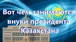 Чем занимаются внуки президента Казахстана
