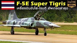 เครื่องบินรบ F-5E Super Tigris ขับไล่-โจมตี รุ่นอัพเกรด ทอ.