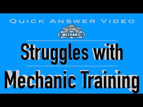 Struggles With Training New Auto Mechanic - YouTube