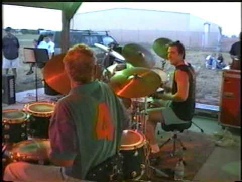 Ginger Baker and his son, Kofi Baker perform a Drum Duet